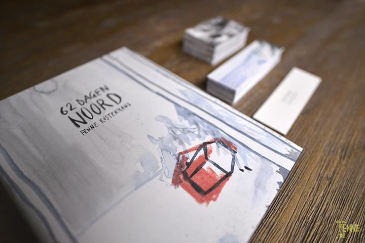62 dagen Noord   graphic novel   www.Fenne.be