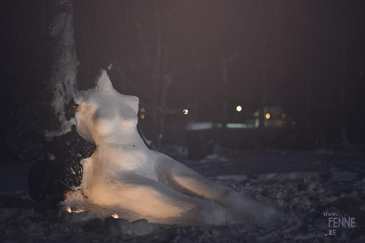 Snow sculpture | www.Fenne.be