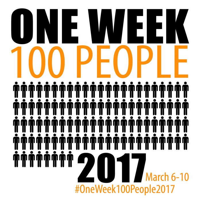 Sketching challenge: one week, 100 people | www.Fenne.be