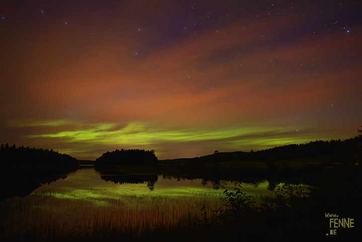 Photographing Northern Lights | Sweden | Blog | www.Fenne.be