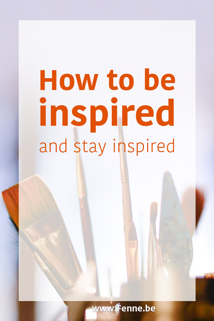 Be inspired, Stay inspired | photography | blog at www.Fenne.be