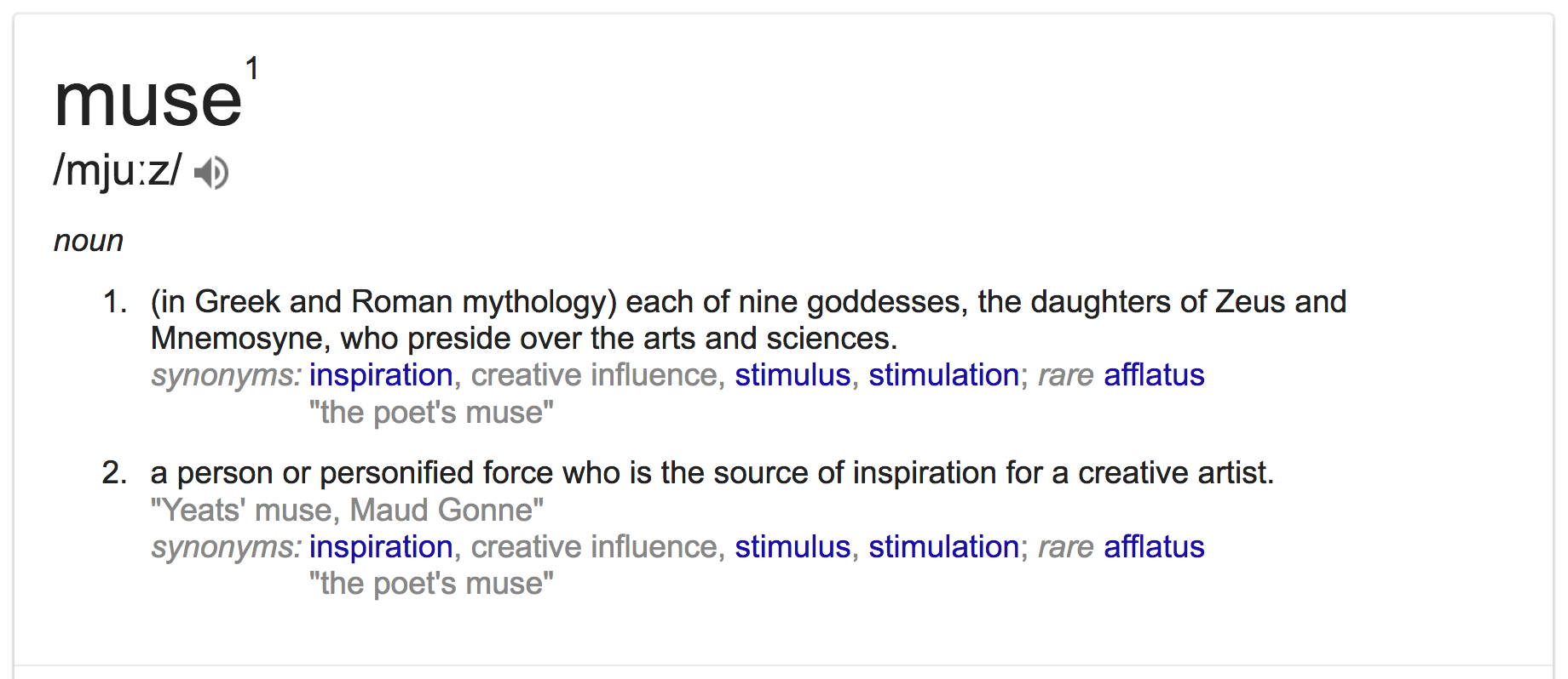 How to find your creative muse | www.Fenne.be