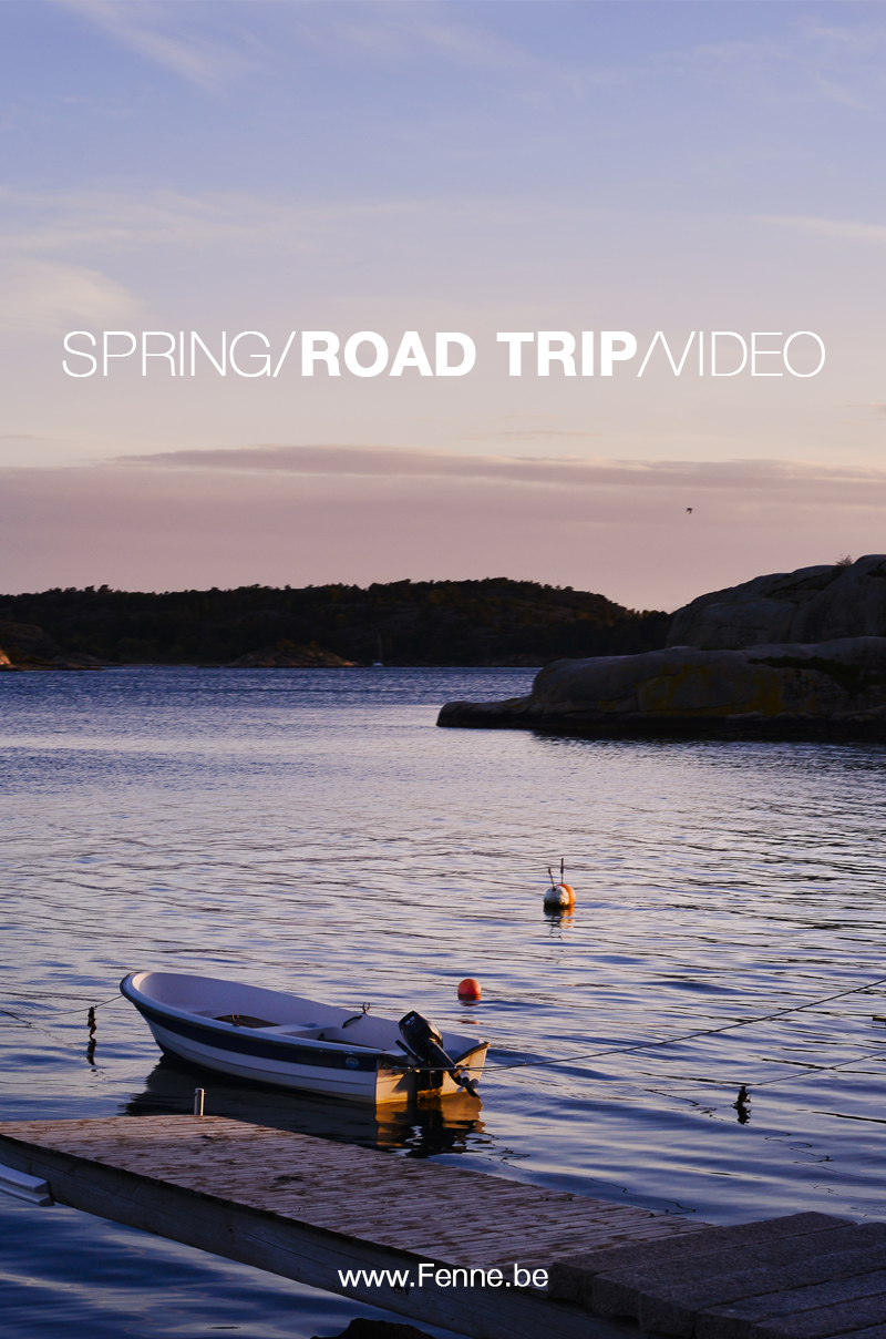 Spring road trip Europe video | blog on www.Fenne.be