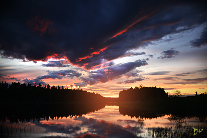 In the land of the midnight sun | Sweden | www.Fenne.be