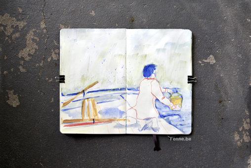 Sketchbook | moleskine | art & blog on www.Fenne.be