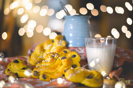 Santa Lucia & Lussekatter | Swedish traditions | www.Fenne.be