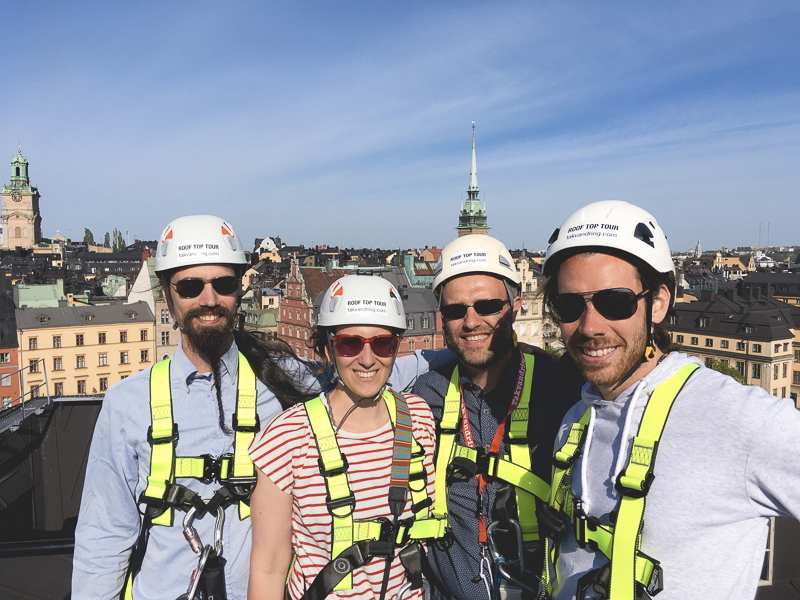 Stockholm rooftop walk, Takvandring Sweden, blog on www.Fenne.be