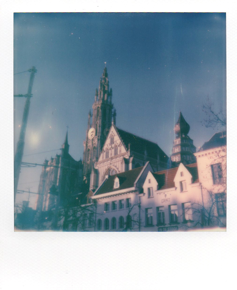 Antwerp Polaroids, street photography, travel Europe, Belgium, www.Fenne.be
