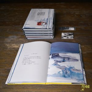 62 days north, a solutide experiment, graphic novel, www.Fenne.be