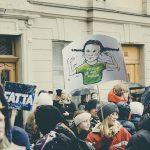 #FridaysForFuture, climate action strike, Stockholm March 2019, Klimatstrejk, Greta Thunberg, www.Fenne.be