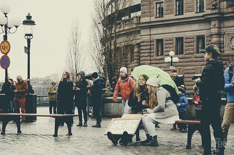 #FridaysForFuture, climate action strike, Stockholm March 2019, Klimatstrejk, Greta Thunberg, www.Fenne.be