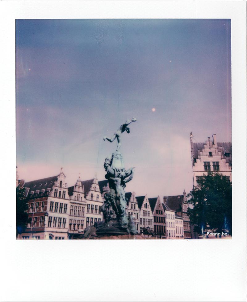 Polaroid image Antwerpen, www.Fenne.be