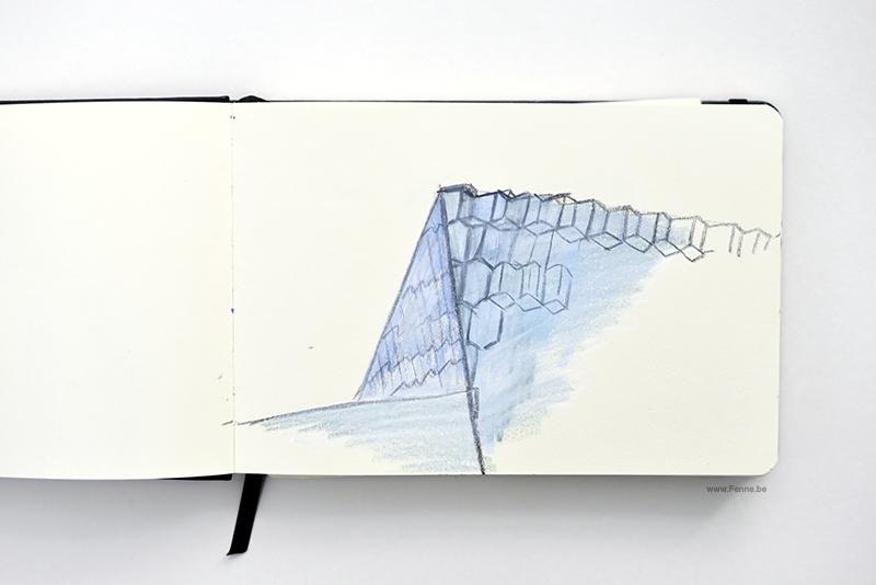 Sketchbook sketch Fenne Kustermans, www.Fenne.be