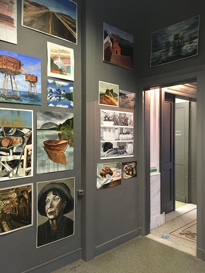 Kunst Academie Kontich, Gask, Antwerp Belgium, Screen printing workshop, www.Fenne.be