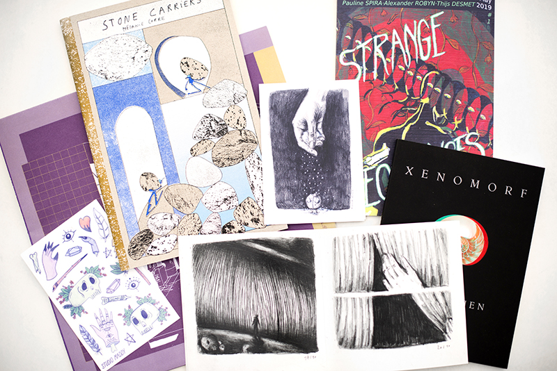 november treasures, zines, comics, poetery, Belgium, travel, www.Fenne.be