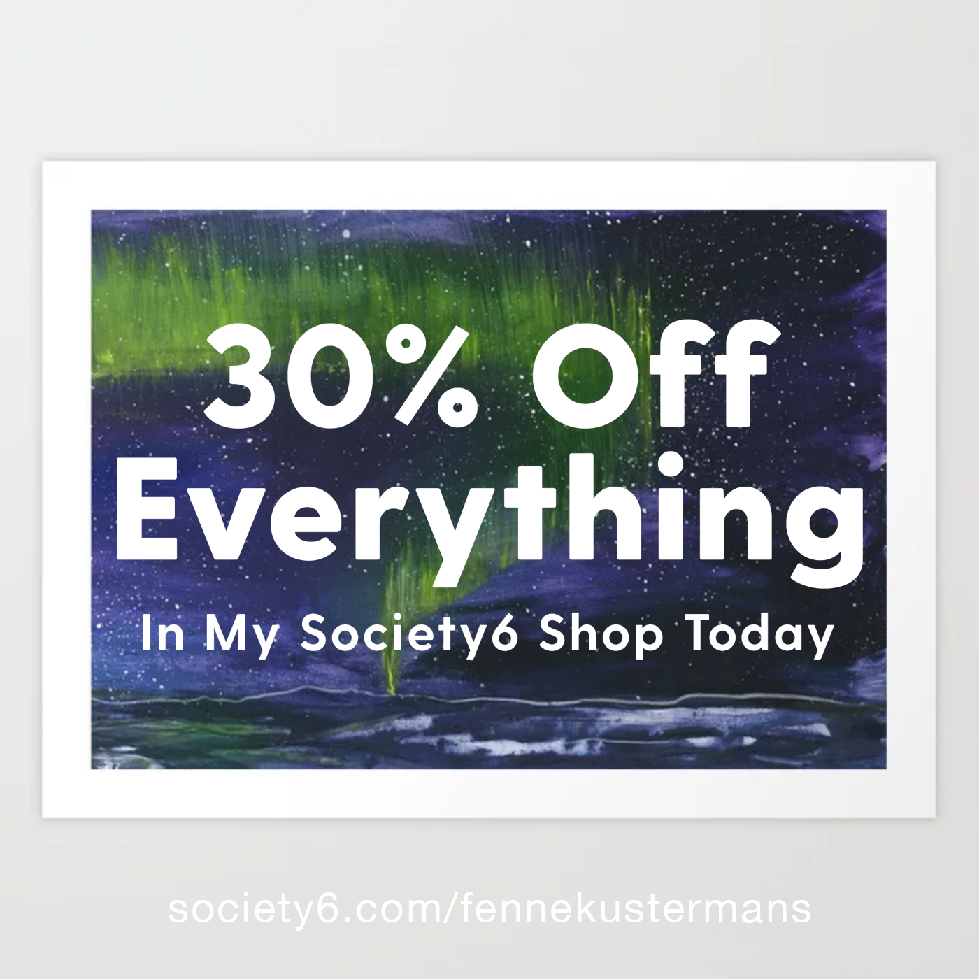 Fenne Kustermans, illustration print and products sale at Society6, www.Fenne.be