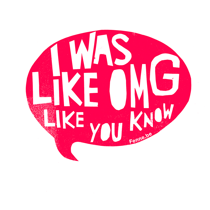 like-you know, OMG, www.Fenne.be, photography and illustration, Sweden/ Belgium