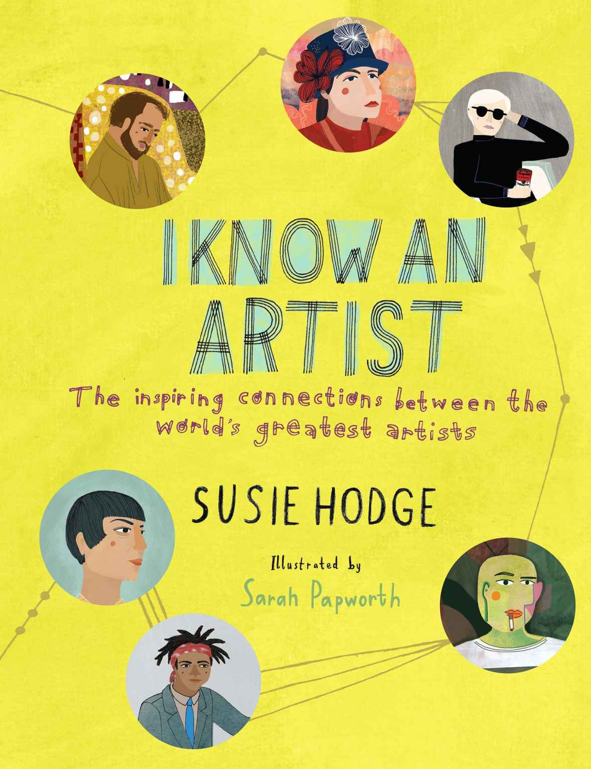 Book: I know an artist by Susie Hodge, illustrated by Sarah Papworth, www.Fenne.be