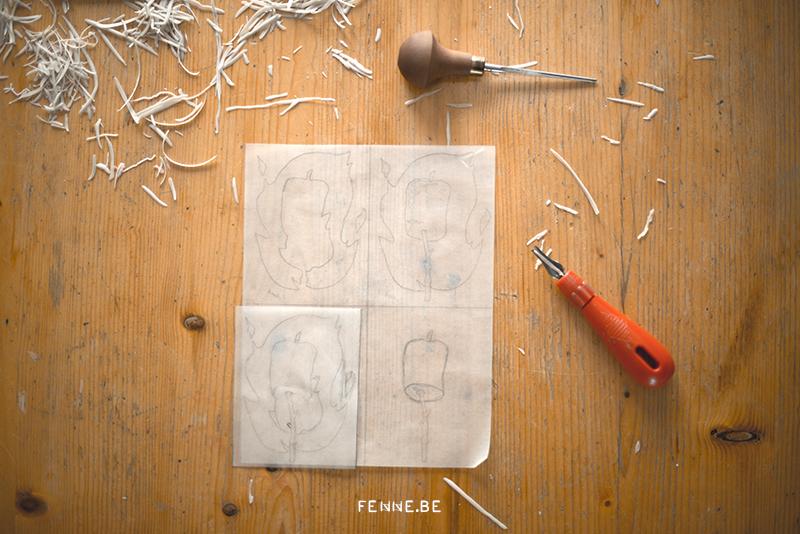 Fenne Kustermans artist, Belgian artist in Sweden, printmaker, printmaking, illustration artist, www.Fenne.be