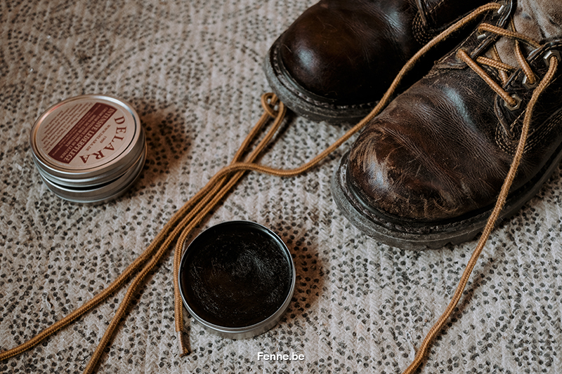 Small pleasures #5: cleaning leather shoes, shoe polish, caterpillar boots, www.Fenne.be