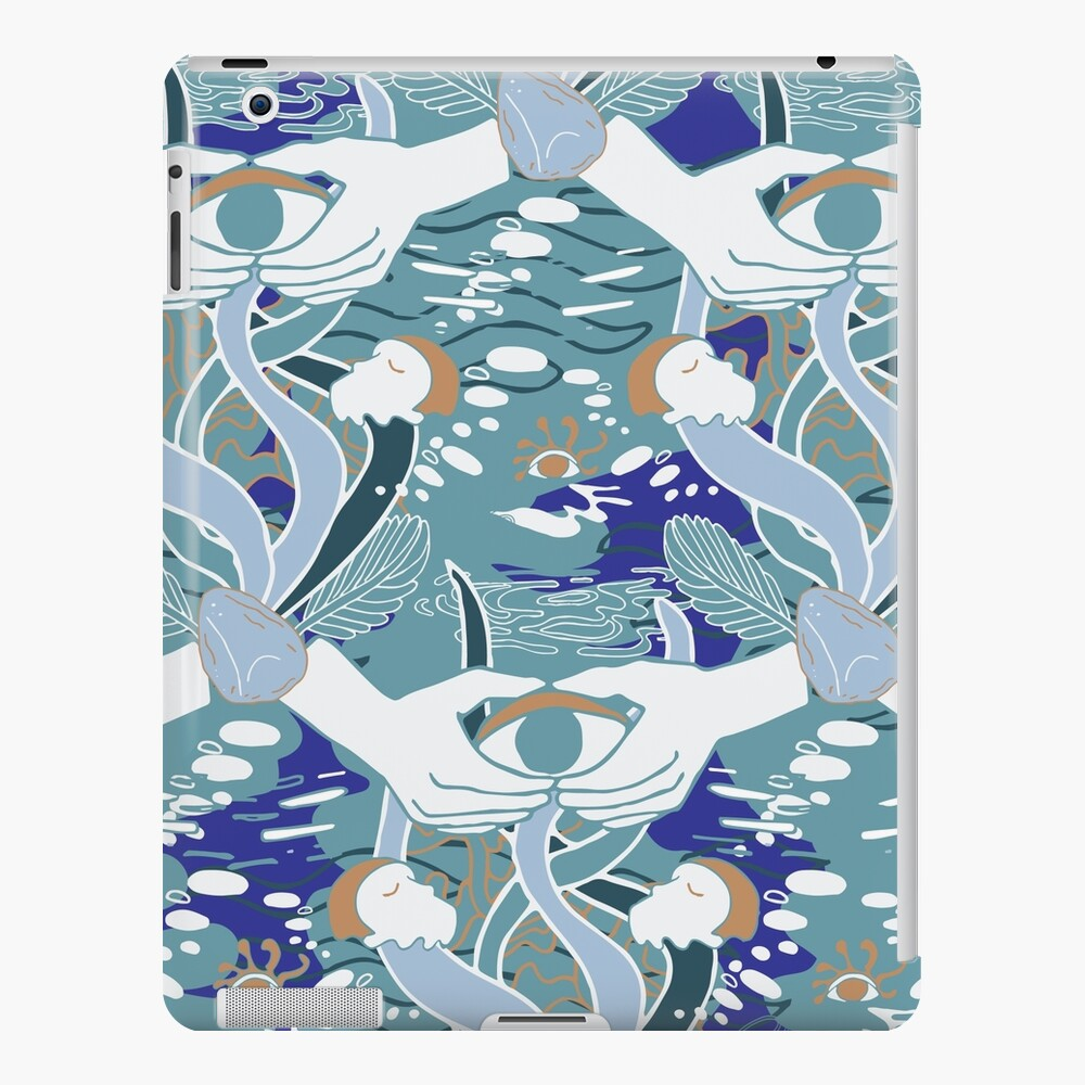 Inspired by Riverside by Agnes Obel, pattern design by Fenne Kustermans, available on Redbubble and Society6, www.Fenne.be