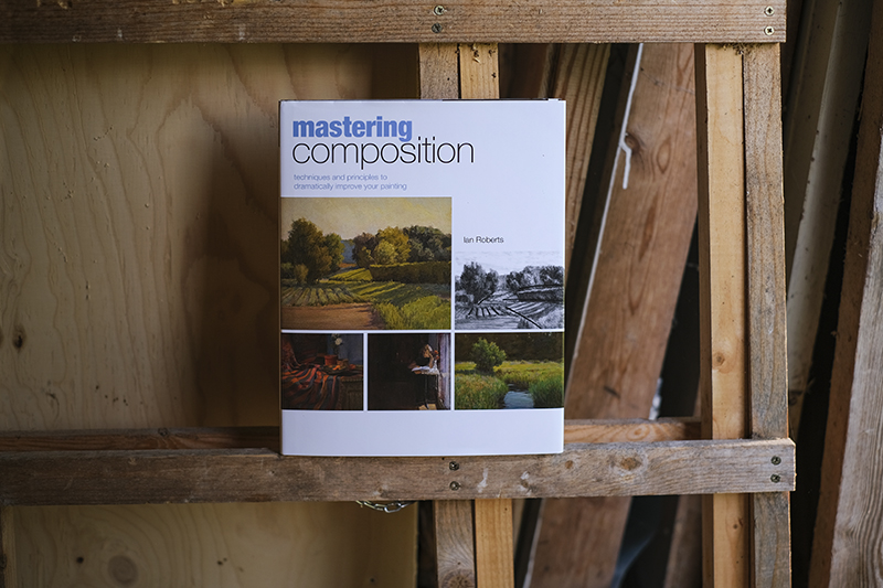 Painting book, Mastering composition, photo Fenne.be
